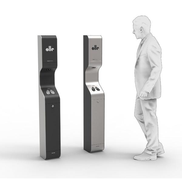 AeroCare Advance GSM automat do bezdotykowej dezynfekcji rąk atomizerem
