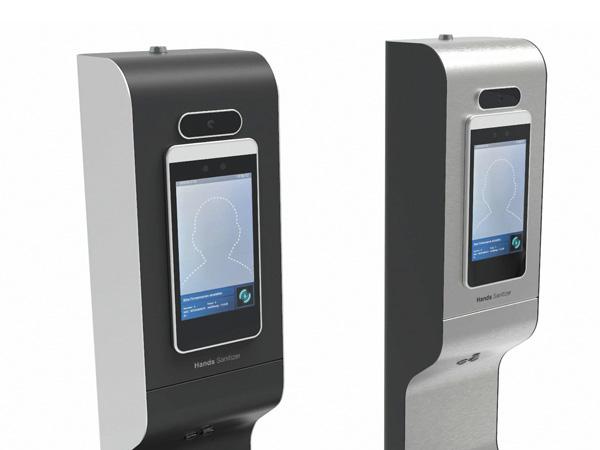 AeroCare Temp urządzenie do dezynfekcji rąk z kamerą termowizyjną